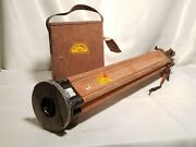 Vintage Keuffel And Esser Transit 78-0032 W/tripod And Wooden Case