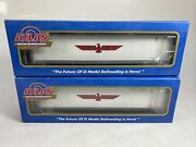 2 Atlas O Scale 45and039 Apl Containers Item 4507 And 9