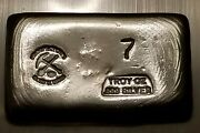 Prospectorand039s Gold And Gems Poured 7 Oz Silver Bar .999 Fine Silver 🥈⚒️ Silver 🆙