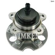 For Toyota Sienna Rear Set Of 2 Wheel Bearing And Hub Assembly Timken Ha590409