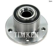For Volvo S80 Xc60 S60 Xc70 Front Set Of 2 Wheel Bearing And Hub Assembly
