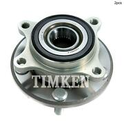 For Acura Rl Front Set Of 2 Wheel Bearing And Hub Assembly Timken Ha590147