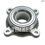 For Toyota Tundra Sequoia Lexus Lx570 Front Set Of 2 Wheel Bearing Assembly