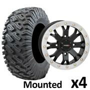 35 Gbc Dirt Commander 2 Tires 15 System3 Sb4 4+3 Wheels White Maverick X3