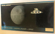 Star Wars Widevision Trading Card 1994 38 Death Star Imperial Cruiser