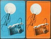 Old Fashioned Camera 2 Single Swap Playing Cards Joker Pair