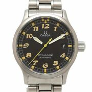 Auth Omega Watch Dynamic 5200.50 Automatic Case 36mm Date F/s