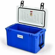 Stakol 58 Quart Portable Cooler Ice Chest Leak-proof 80 Cans Ice Box For Camping