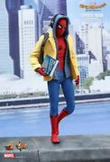 Hot Toys Mms426 1/6 Scale Spider-man Homecoming Deluxe Ver. Tom Holland Nib