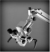 Gss 3 Step Floor Ent Stand Microscope With Accessories Led Monitor White Colour