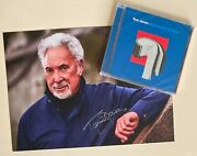 Tom Jones Surrounded By Time 12 Trk Cd W/ Limited Signed Photo Print Bn
