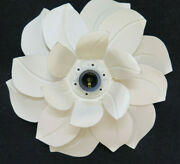 Ceiling Light Wall Chandelier Vintage A Flower Magnolia Made Hand Years 70 Ch19