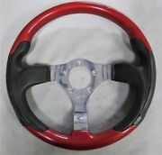 Rare Victor Sports Steering Wheel Made In Italy 13 5-bolt Excellent