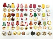 Albania Set Of Medals And Orders Lot 48 Pcs Medal + Order Communist Era Collection