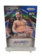 Michael Chandler 2021 Ufc Prizm Octagon Signatures Blue Ssp Auto Rc 23/35