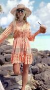 Laurie And Joe Latest Style Coral Jolie Dress New £220