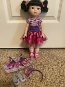 American Girl Wellie Wisher Doll Emerson Showtime Ballet Outfit Book