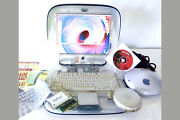 Apple Ibook Clamshell G3 366 Clear 40gb + Apple Base Station . Os 9 ⭐️⭐️⭐️⭐️⭐️