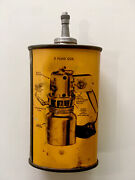 🔥rare🔥 Vintage Lead Top Handy Oiler Tin - Graphic Oil Can Not Sign