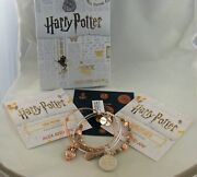 Alex And Ani Harry Potter Valentines Day 2019  Set Of 3, Nwt, Cards, Hp Box