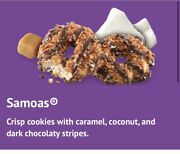 6 Boxes Of Girl Scout Cookies Samoas Caramel Delites Little Brownie Bakers