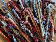 Wholesale 48 Primitive Assorted 6 Fabric Candy Canes Christmas Ornaments Lot