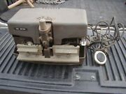 Vtg Foley 52000 Automatic Power Saw Tooth Setter Machine W/ Foot Switch Pedal