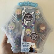 Disney Frozen 2 Necklace Charms Jewelry Activity Set New Sealed