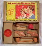 Vintage German 1930's Pre Wwii Blowing Bubble Set Complete Pipes Fish Soap +