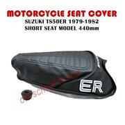 Motorcycle Seat Cover Suzuki Ts50 Er 1979-1982 Short Seat Model 440mm And Strap