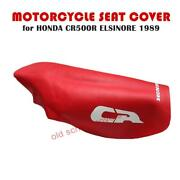 Motorcycle Seat Cover Will Fit Cr500 R Elsinore 1989 In Red