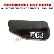 Motorcycle Seat Cover Suzuki Dr125s Dr125 S Z D Models 1982-1983