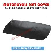Motorcycle Seat Cover Puch Cobra 6 Gt Gtl 1977-1980