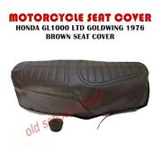 Motorcycle Seat Cover Brown Fits Gl1000 Ltd Honda Goldwing 1976 Gl 1000