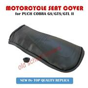 Puch Cobra Gs Gts Gtl Ii Seat Cover With Rubber Trim And Seat Strap