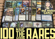 100 Rare Magic The Gathering Cards Lot Instant Collection Mtg