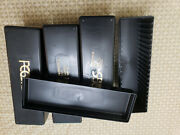 Two Pack Of Black Pcgs Coin Storage Boxes - Two 20 Slab Boxes - Used