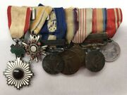 7 Japanese Military Medals Ranging From Wwi Through Wwii.eb1001540