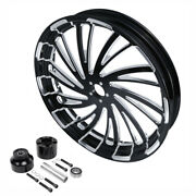 18 X 3.5and039and039 Front Wheel Rim Single Disc Hub Fit For Harley Street Glide 08-21 20