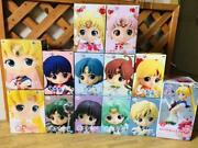 Sailor Moon Q Posket Glitter Figure A Lot 2015 Discontinued Product