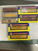 N Scale Athearn Auto Parts And Box Car Lot 7 Cars Bnib Oop