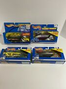 Vtg Hot Wheels Cars Lot. Set Of 4 Pavement Pounders From 1999 And 2000 Nip U