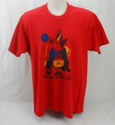 Vintage 80s Bud Light Beer Spuds Mackenzie Party Animal Budweiser Red T-shirt Xl