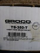 Groco Ts-350-t Fuel Tank Selector Kit For 2 Tanks