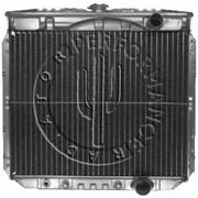Performance Radiator 340 1967-69 Mustang And Couger With 289 Or 302 Copper/brass