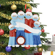 5x Diy Name Christmas Ornament Personalized Xmas Hanging Ornaments Family Love