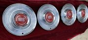 Vintage Pontiac Chrome Hubcaps Size 15 Andbull Great Condition