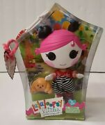 Lalaloopsy Littles Sherri Charades Doll With Pet Croissant 7 New-in-box