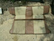 70 71 72 73 74 75 Amc Gremlin X Rear Seat Complete Oem Nice Upholstery