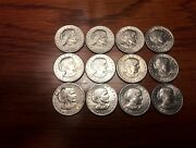 1980 Susan B Anthony Circulated Dollar Coins 4 Each Mintpds Lot Of 12 Coins